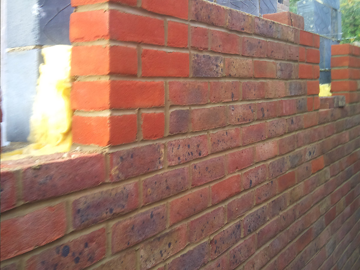 Brick work in West Sussex